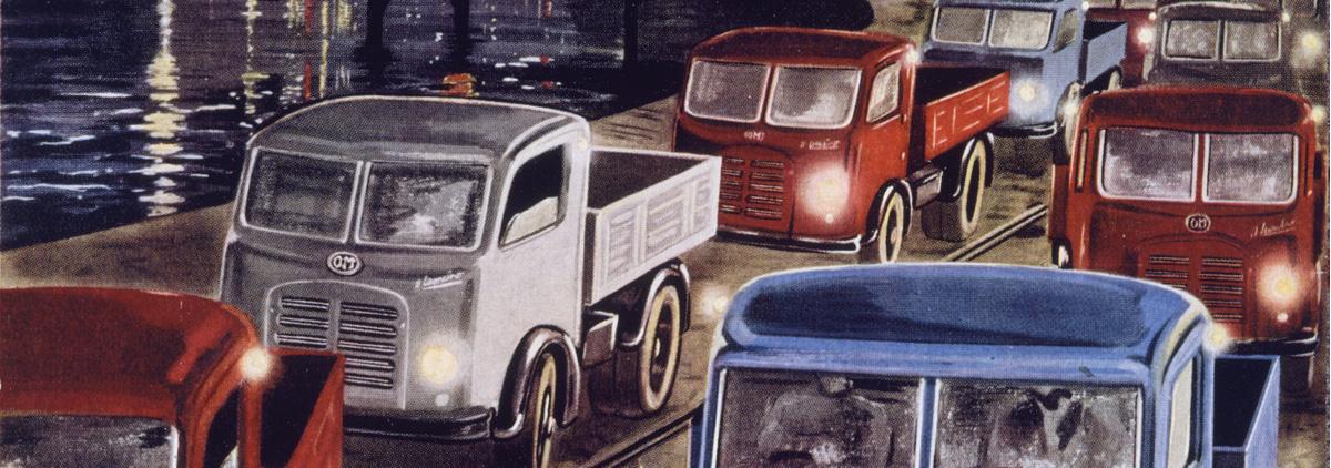 Truck advertising history